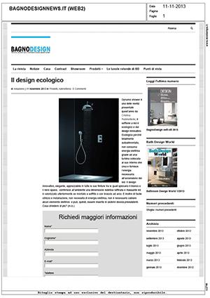 BagnoDesignNews.it