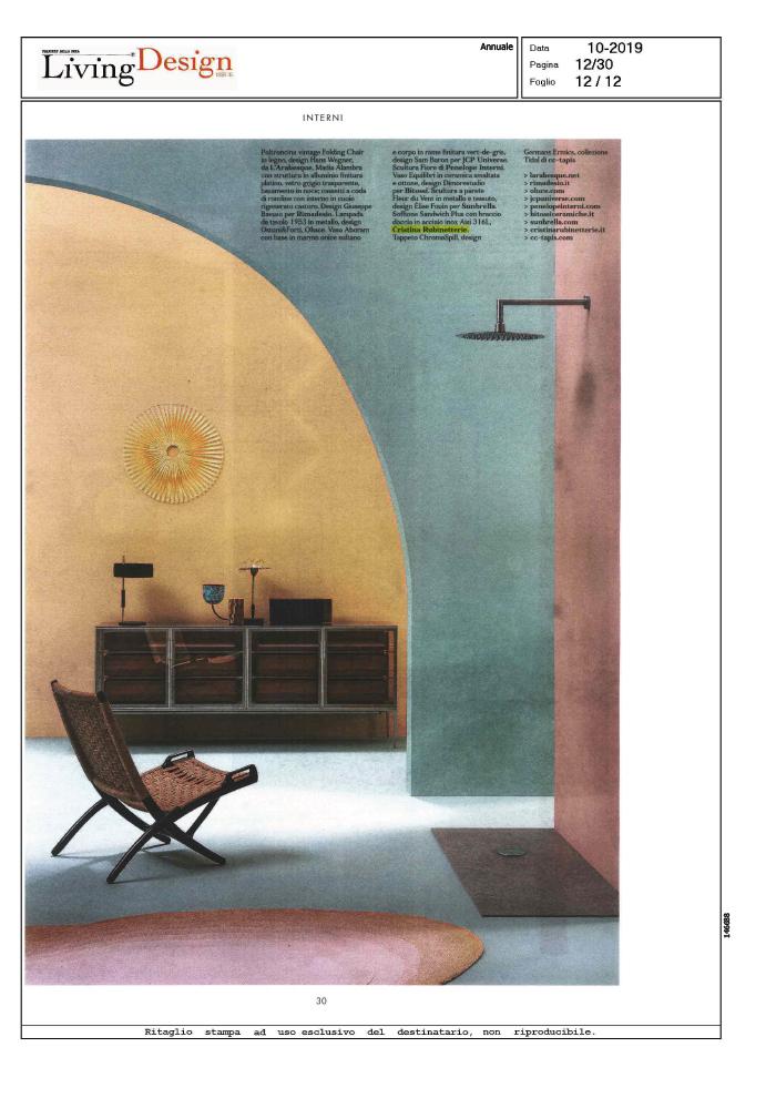 Living Design Issue (Corriere della Sera)